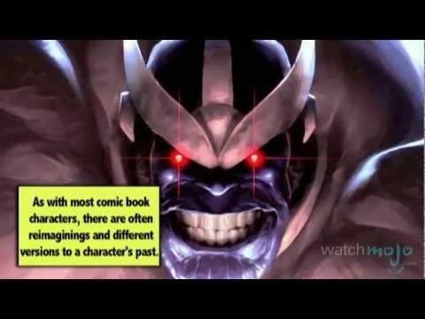 Supervillain Origins: Thanos