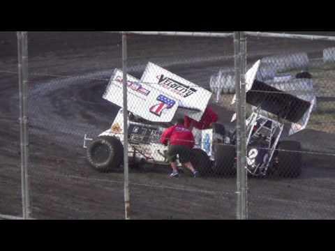 360 Sprints MAIN  7-9-16  Petaluma Speedway