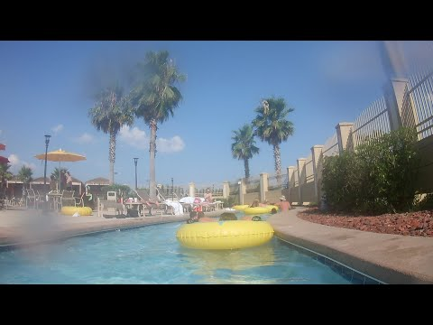 LAZY RIVER POOL AREA REVIEW HOLLYWOOD HOTEL BAY SAINT LOUIS MS