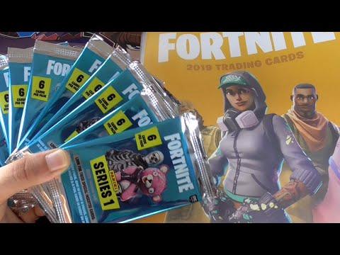 Panini fortnite tarjetas de colección serie 1-Epic y Legendary atuendo para elegir