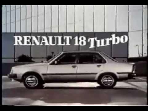 renault 18 turbo 80 39 s advert fra youtube. Black Bedroom Furniture Sets. Home Design Ideas
