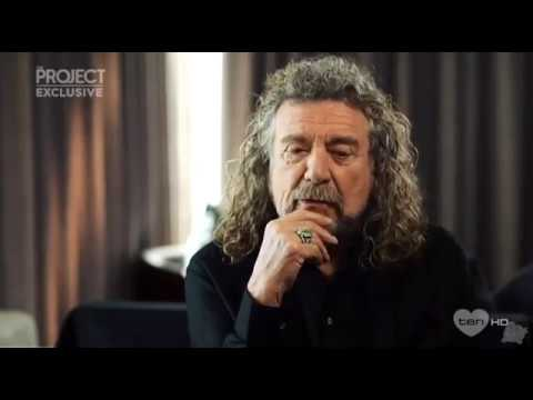 Robert Plant talks about Greta Van Fleet