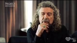 Robert Plant talks about Greta Van Fleet