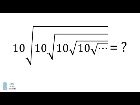 Can You Solve This? Infinite Radicals