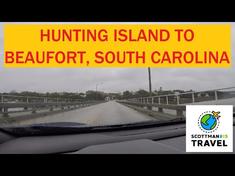 Driving With Scottman895: Hunting Island To Beaufort South Carolina