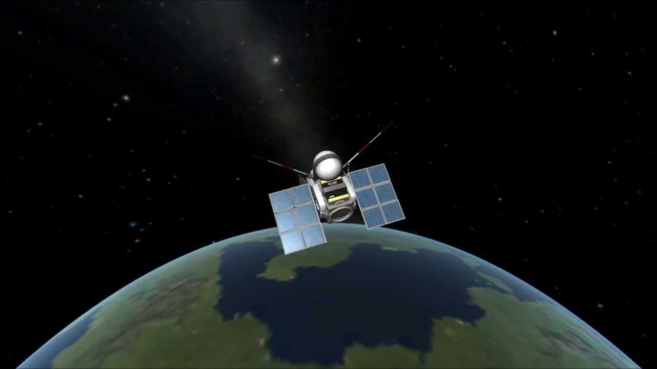 KSP: 3 satellites launched