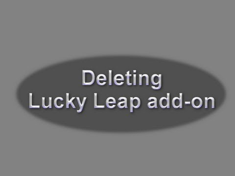 How to remove (delete) Lucky Leap adware add-on (Internet Explorer, Firefox, Chrome)