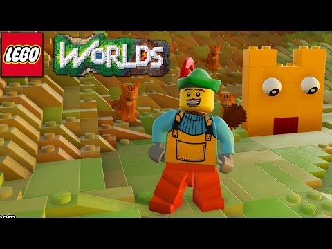 Lego Worlds - My First Creation... [7]