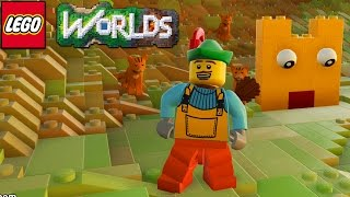 Lego Worlds - My First Creation... [7]