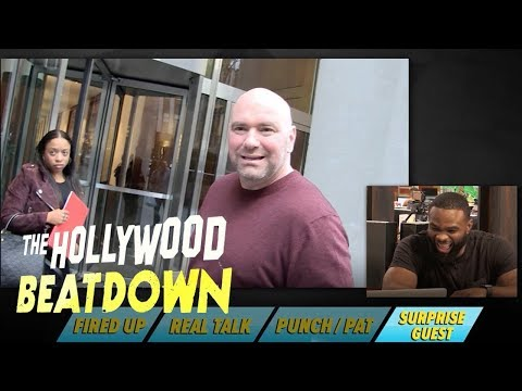 UFC's Tyron Woodley & Dana White Have A Love/Hate Relationship | The Hollywood Beatdown