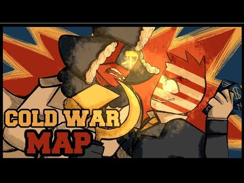 [Countryhumans] COLD WAR | Complete MAP