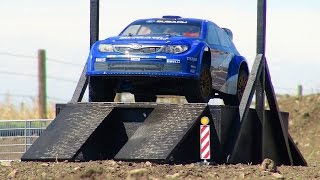RC ADVENTURES - World Rally Championship Subaru Impreza Car - Kyosho DRXve 4WD 1/9 Scale RC