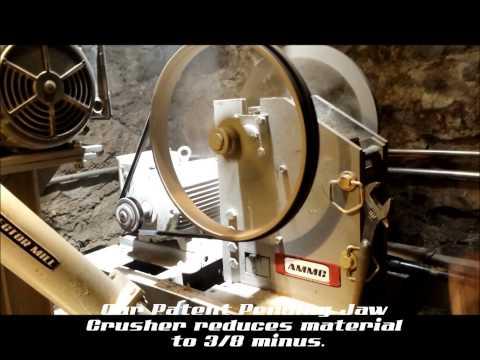 Miner Proof Prospector Hard Rock Mill