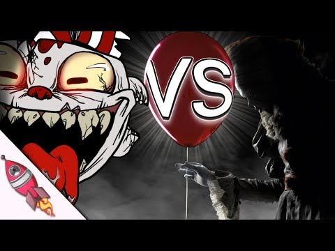 Cuphead VS IT Movie Rap Battle | Cuphead vs Pennywise Rap Song | Rockit Gaming