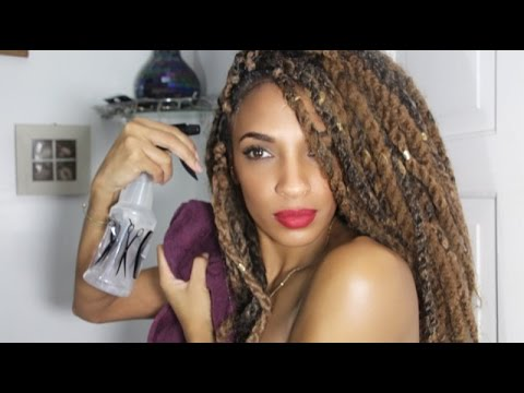How To Wash Marley Twists Easy Method Niaknows Youtube