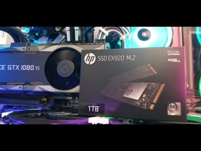 HP EX920 M.2 NVME in Lian Li PC-011 Dynamic   - Install & Review