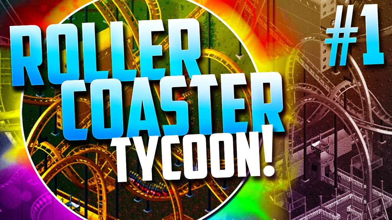 Roller Coaster Tycoon! - `BUMBLY BEACH!` (Episode 1)
