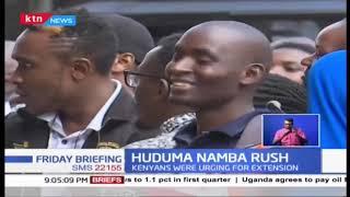 Last minute rush to get Huduma Namba, Kenyans were calling for extension