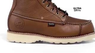 "Irish Setter Red Wings Men's 808 Wingshooter Waterproof 9"" Upland Hunting Boot"