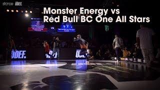Monster Energy vs Red Bull BC One All Stars // .stance // Silverback Open 2018