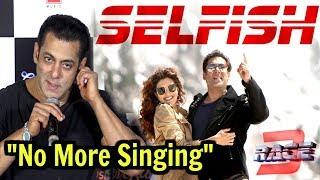 Salman Khan Makes Fun Of Race 3 Selfish Song   Loveratri Trailer Launch