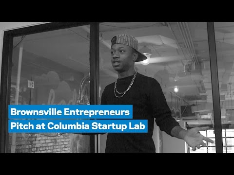 Brownsville Entrepreneurs Pitch at Columbia Startup Lab
