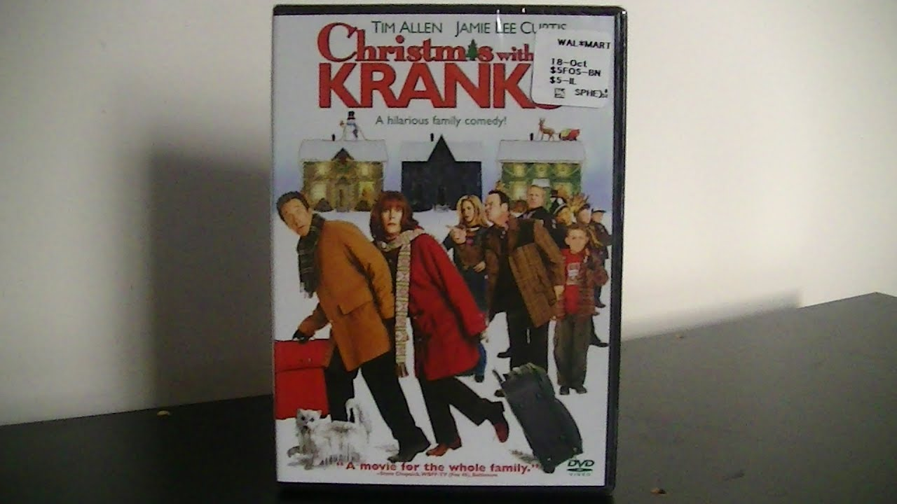 Christmas With The Kranks Dvd.Christmas With The Kranks Dvd Unboxing