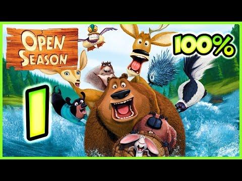 Open Season Walkthrough Part 1 (X360, Wii, PS2, PC, XBOX) 100% Mission 1 - 2 - 3