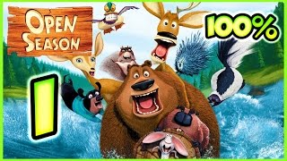 Open Season Walkthrough Part 1 (X360, Wii, PS2, PC, XBOX) 100% Mission 1 - 2 - 3