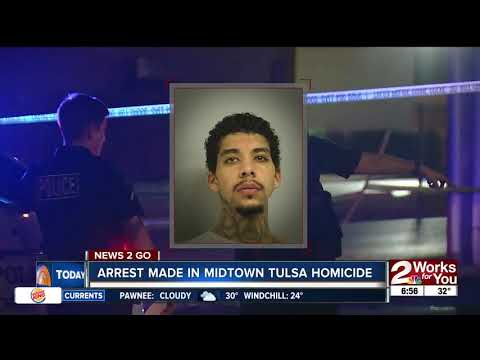 Arrest made in midtown Tulsa homicide