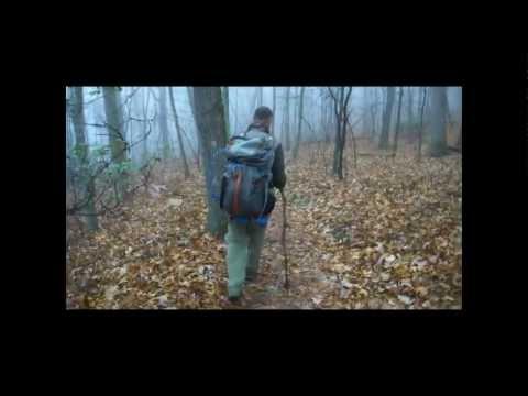 TINKER CLIFFS (ANDY LAYNE TRAIL) TO MCAFEE KNOB (APPALACHIAN TRAIL) NOV 2012