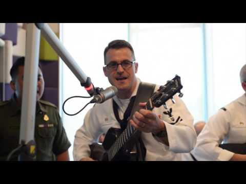 KFM Interview - US Navy Band & Royal Brunei Navy Band