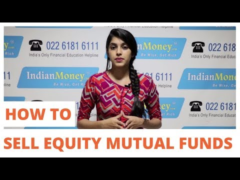 Mutual Funds - How to Sell Mutual Funds