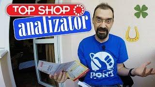 Top Shop-analizátor