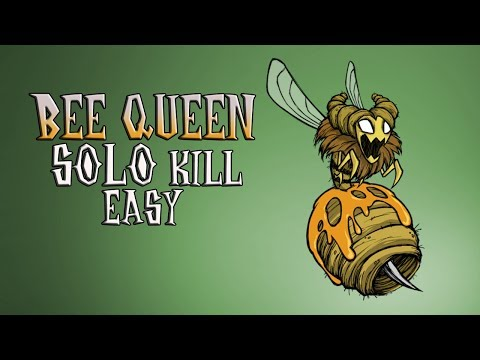 Bee Queen Easy Solo Kill [No damage] | Don't Starve Together | Соло убийство Пчелиной матки в DST