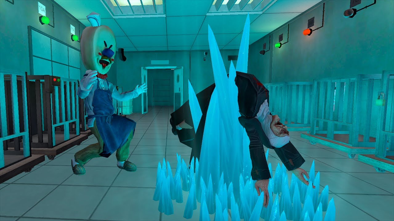 Ice Scream 4 Killed a  Evil Nun Ice Scream 4 Jay Survived funny animation part 164