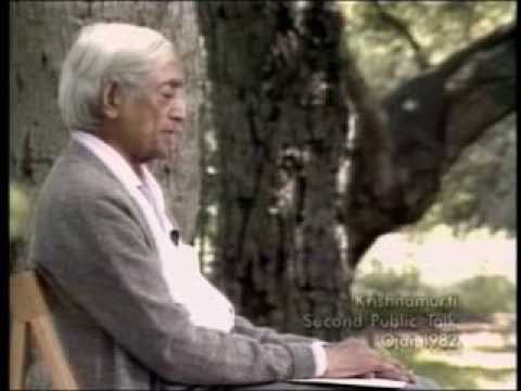 J. Krishnamurti - Beyond Myth & Tradition 2 - Change