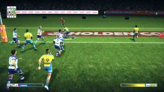 Rugby League Live 3 - Play Test Gameplay!!