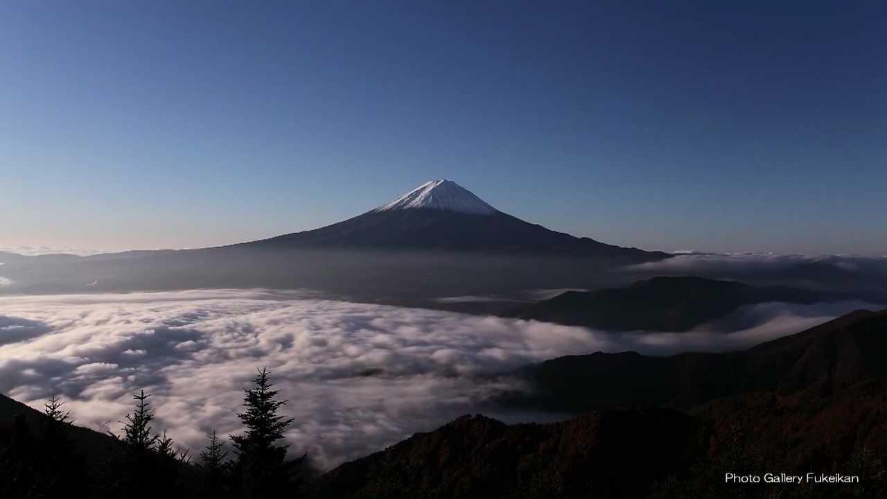 ����� ��������� ������� november 2012 fuji mountain youtube