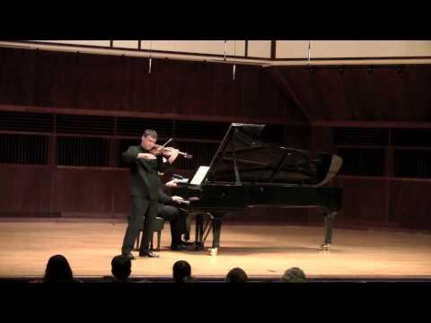 Schönberg Phantasy op. 47 (Wolfgang David, violin)