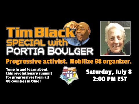 Ohio Grass Roots Activism, Mobilize 88 with Portia Boulger #TBSpecialspecdial