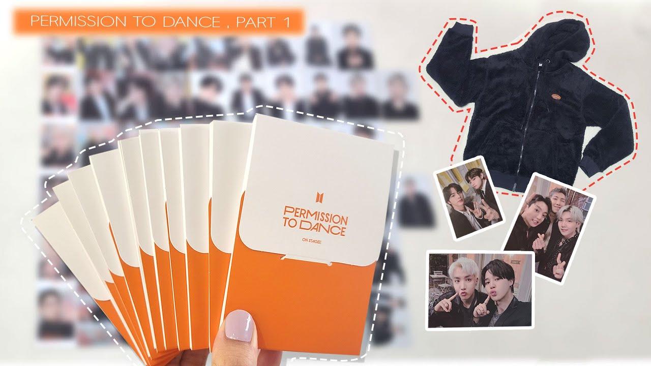 방탄소년단 PTD 퍼투댄 포토 카드 드볼💜제가 도전합니다💜(feat. 후디) BTS Permission To Dance Merch Unboxing Part 1