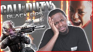 ANNOYING CRAP TALKING LITTLE BROTHA! | #ThrowbackThursday - Call of Duty Black Ops