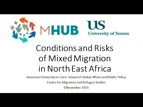 MHub Research Launch - Conditions and Risks of Mixed Migration in North East Africa