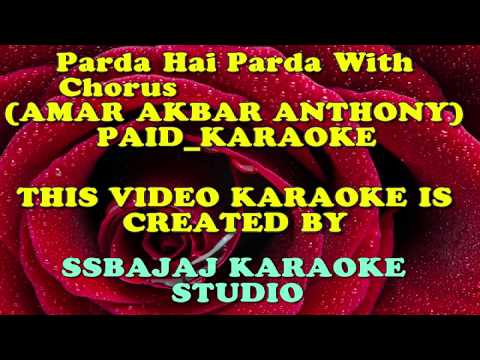 Parda Hai Parda (AMAR AKBAR ANTHONY) PAID_KARAOKE SAMPLE