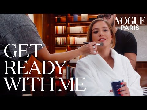 Adèle Exarchopoulos prepares for the Dior show | Get Ready With Me | Vogue Paris
