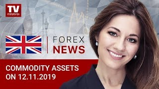 InstaForex tv news: 13.11.2019: Oil and RUB have no reasons to grow (Brent, USD/RUB)