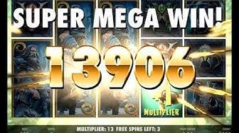 Netent Slot x855 Big Win - Warlords: Crystals Of Power Jackpot