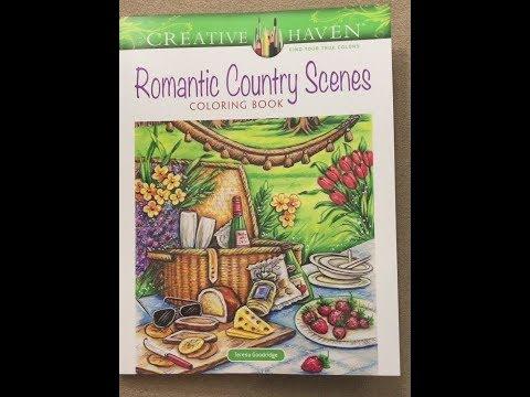 romantic-country-scenes---creative-haven-flip-through