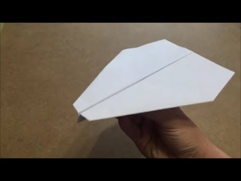 How To Make Paper Airplane that FLY FAR - Blunt Dart (Origami)